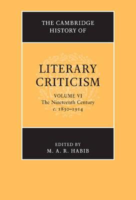 Camb Hist of Literary Criticism v6