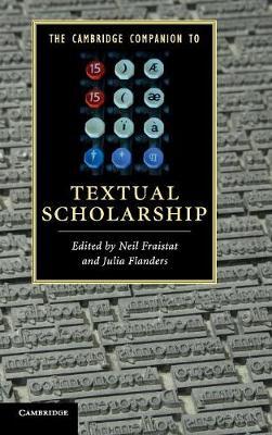 Camb Companion Textual Scholarship