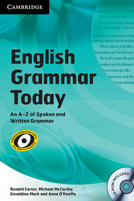 English Grammar Today with CD-ROM: An A-Z of Spoken and Written Grammar