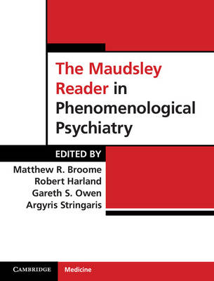 Maudsley Read Phenomenologic Psych