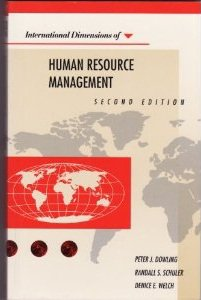 International Dimensions of Human Resource Management
