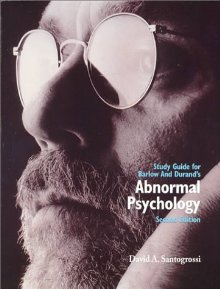 Abnormal Psychology 2ed Study Guide