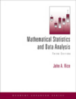 Mathematical Statistics & Data Analysis (with Cd Data Sets)