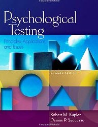 Psychological Testing Principles Applications Issues &   Workbook