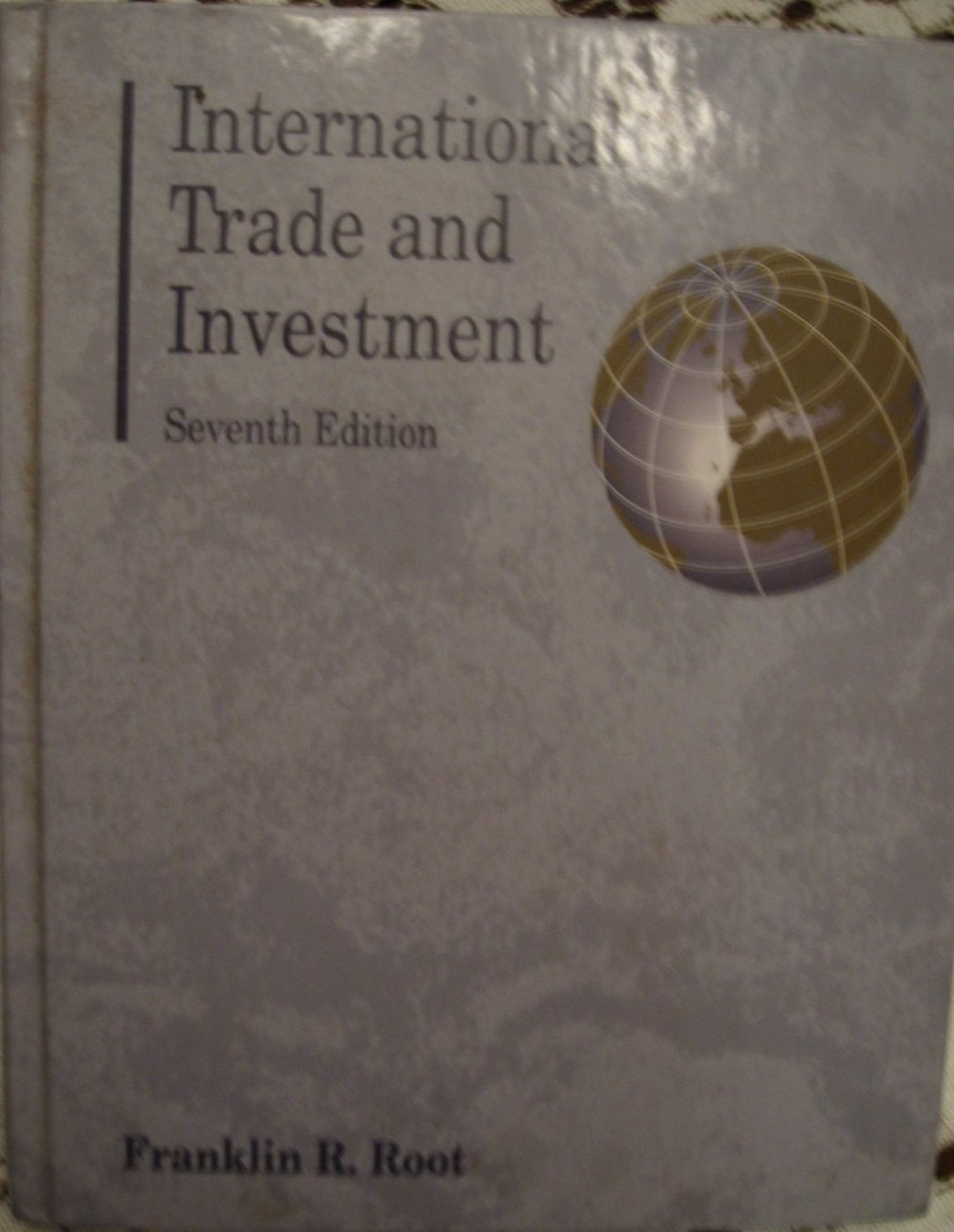 International Trade and Investment: Theory, Policy, Enterprise