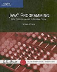 Java Programming: From Problem Analysis to Program Design