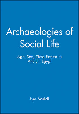 Archaeologies of Social Life: Age, Sex, Class Etecera in Ancient Egypt