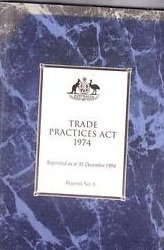 Trade Practices Act 1974
