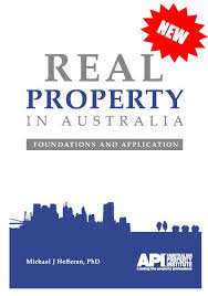 Real Property in Australia: Foundations and Application