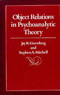 Object Relations in Psychoanalytic Theory