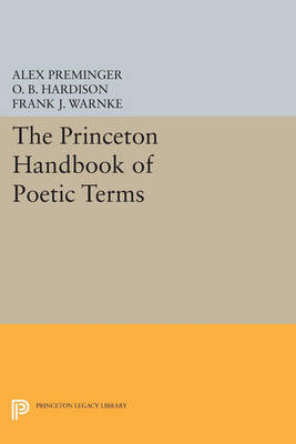 The Princeton Handbook of Poetic Terms