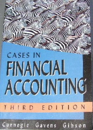Cases In Financial Accounting 3ed