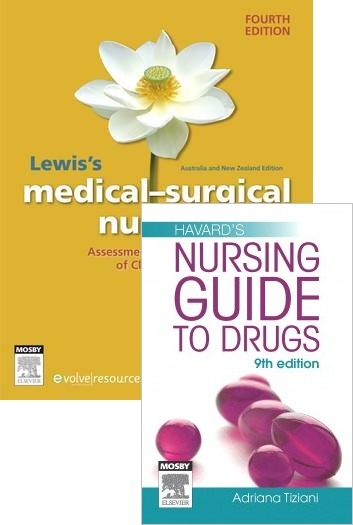 Lewis's Medical Surgical Nursing 4E + Harvard's Nursing Guide to Drugs