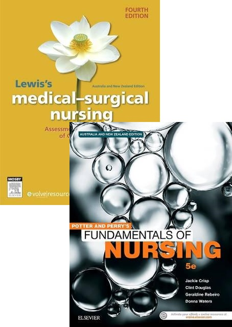 UTS 92430 Potter & Perrys Fundamentals Of Nursing 5ed + Lewis's Medial Surgical Nursing ANZ 4ed