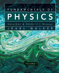 Fundamentals of Physics 9E Volume 1 (Chapters 1-20) + Volume 2 (Chapters 21-44) + WileyPlus Registration Card