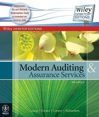 Modern Auditing & Assurance Services 5E Ebook Card Perpetual + Istudy Version 1