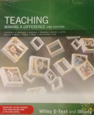 Teaching Making a Difference Wiley E-text Powered By Vitalsource with Istudy Version 3 Card