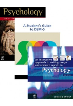 Psychology (Aus) 3E +Istudy Version 1 Card+a Student's Guide to DSM-5+interactive Appr to Writing Essays & Research Reports 3E