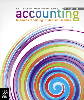 Accounting Business Reporting for Decision Making 4E + Istudy Version 3 Registration Card