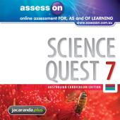 LearnON Science 7 for the Australian Curriculum Teacher Edition (Registration Card)