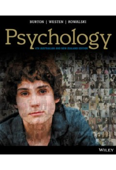 Pyschology (Aus) 4e Wiley EText: Powered By Vitalsource With iStudy And Cyberpsych Card