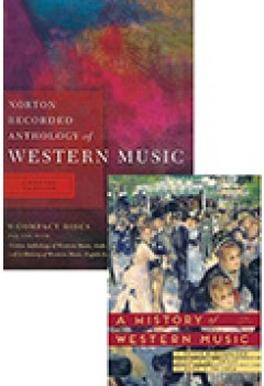 A History of Western Music 9E Ise+norton Recorded Anthology of Western Music