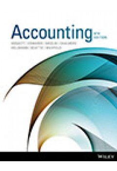 Accounting 9e Binder Ready Version+Wileyplus Stand-Alone Card