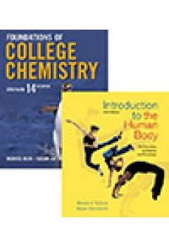 Foundations of College Chemistry 14e+Wileyplus Registration Card+Introduction to the Human Body 9e+Wileyplus Registration Card