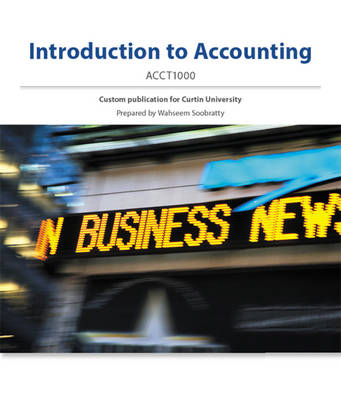 (Aucm) Introduction to Accounting Colour Custom F/Curtin