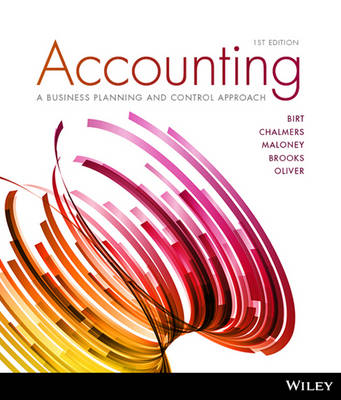 Accounting: A Planning and Control Approach, 1st Edition