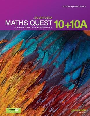 Jacaranda Maths Quest 10+10a Victorian Curriculum 1E (Revised) LearnON & Print