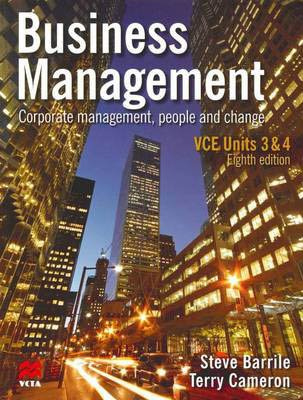 Business Management: Corporate, Human Resource and Operations Management Vce Units 3&4: Vce Units 3 & 4: Corporate, Human Resource and Operations Management