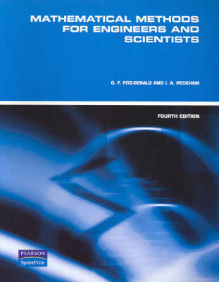 Mathematical Methods for Engineers and Scientists (Custom Edition)