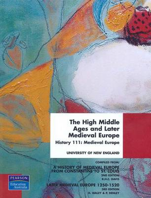 High Middle Ages Later Medieval Europe