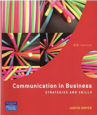 Communication in Business: Strategies and Skills