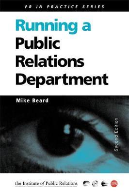 Running a Public Relations Department
