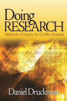 Doing Research: Methods of Inquiry for Conflict Analysis