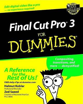 Final Cut Pro 3 For Dummies