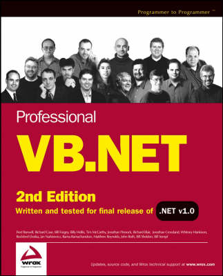 Professional VB.NET