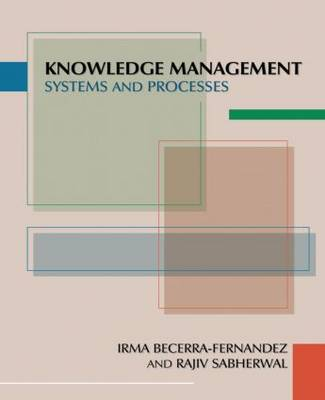 Knowledge Management: Systems and Processes
