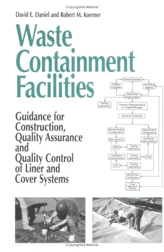 Waste Containment Facilities: Guidance for Construction, Quality Assurance and Quality Control of Liner and Cover Systems