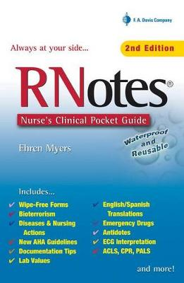 Rnotes : Nurses Clinical Pocket Guide 2ed