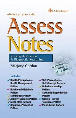 Assess Notes: Assessment and Diagnostic Reasoning for Clinical Practice