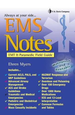 EMS Notes: EMT & Paramedic Field Guide