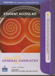 Student Access Kit for Masteringgeneralchemistry for Chemistry: Principles, Patterns and Applications
