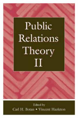 Public Relations Theory II