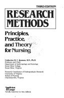 Research Methods: Principles, Practice and Theory for Nursing