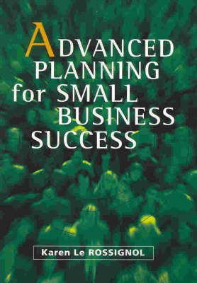 Advanced Planning for Small Business Success