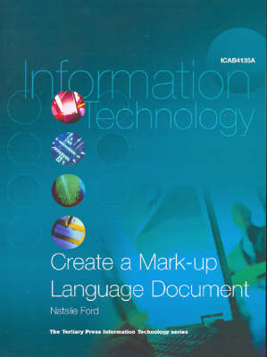 Create a Mark-up Language Document to Specification