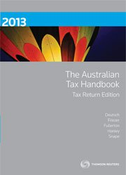 Australian Tax Handbook Tax Return Edition